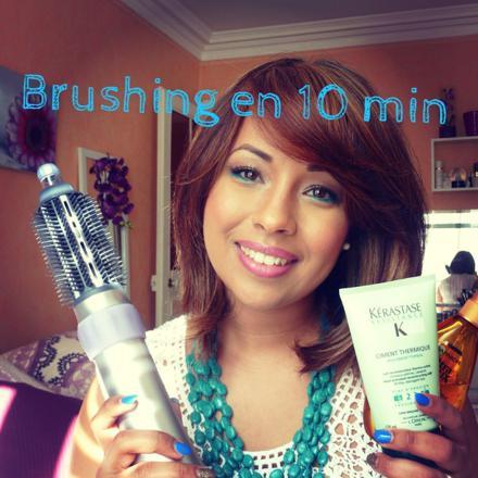brushing brosse soufflante