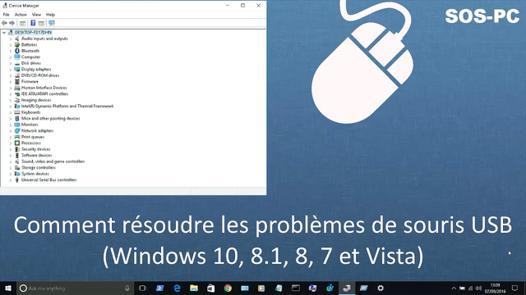 bug souris windows 7