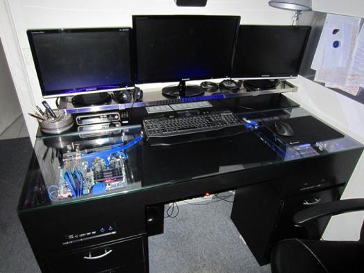 bureau d ordinateur gamer
