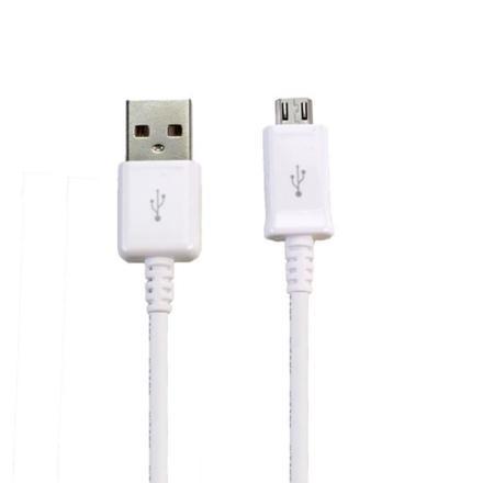 cable micro usb blanc