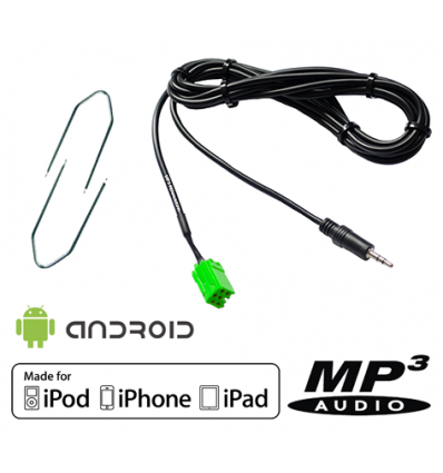cable mp3 renault