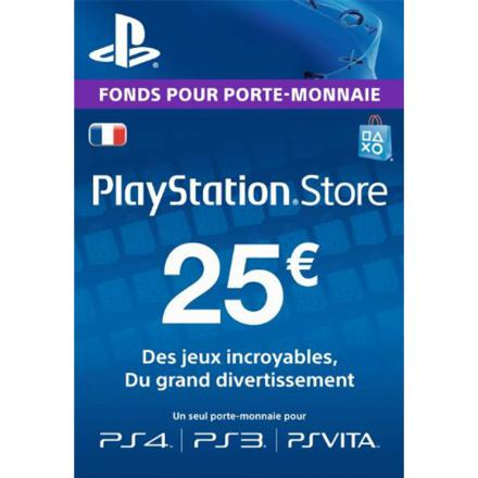 carte playstation store