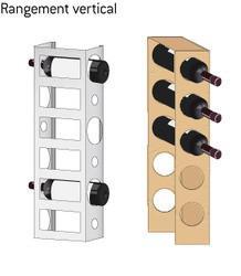 casier à bouteilles vertical