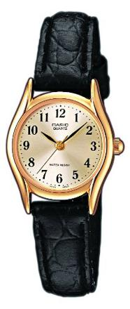 casio montre cuir