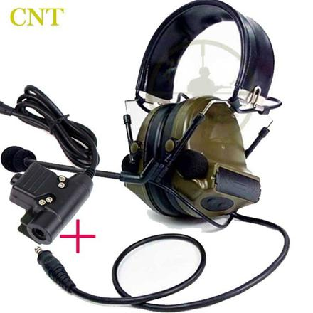 casque audio airsoft