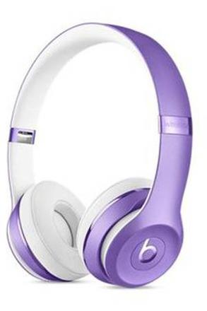 casque beats violet