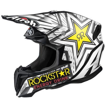 casque de moto cross rockstar