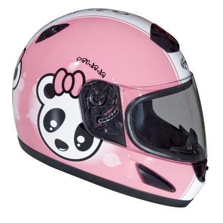 casque de moto pour fille