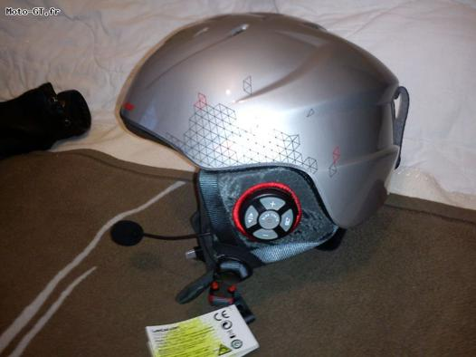 casque de ski audio bluetooth