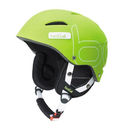 casque de ski vert