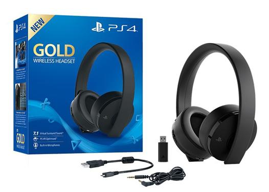 casque gold ps4