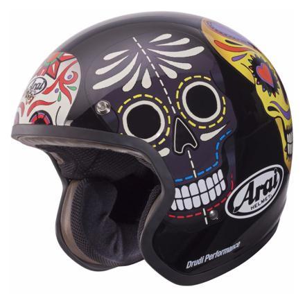 casque jet skull