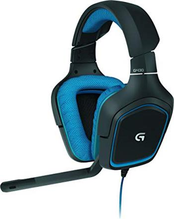 casque micro pc logitech g430 surround sound gaming headset