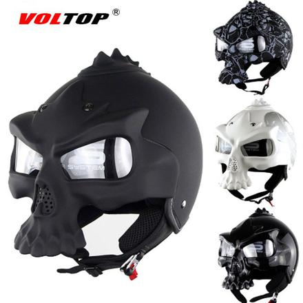 casque moto chopper