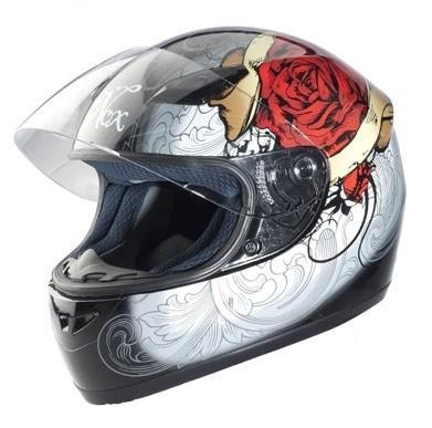casque moto integral femme