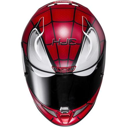 casque moto spiderman