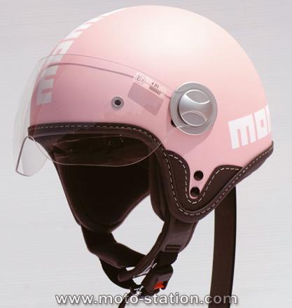 casque scooter femme design
