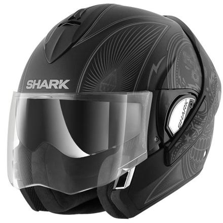 casque shark modulable
