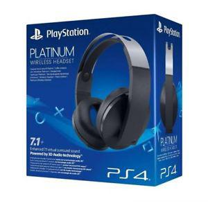 casque sony ps4 platinum