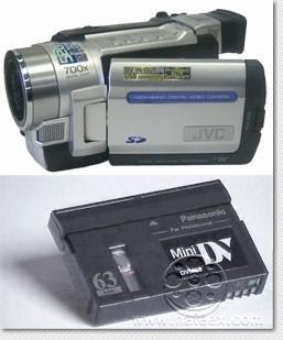 cassette camescope sony