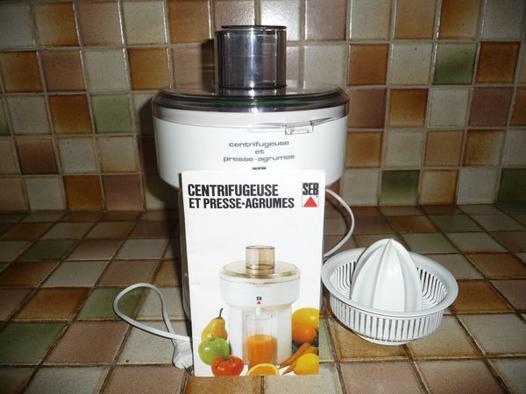 centrifugeuse presse agrume seb