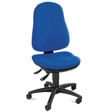 chaise bureau bleu