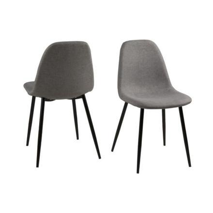 chaise scandinave pied noir consultez notre test et avis sur ce produit - Chaise Scandinave Noir