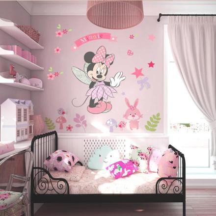 chambre enfant minnie