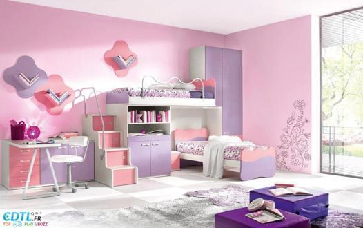 chambre pour fille de 8 ans