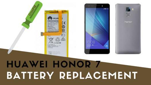 changer batterie honor 7