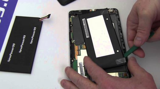 changer batterie nexus 7 2012