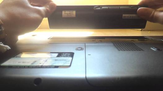 changer batterie ordinateur portable toshiba