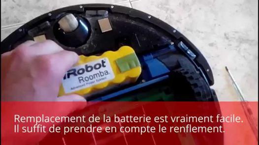 changer batterie roomba