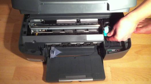 changer cartouche imprimante