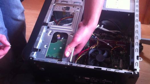 changer disque dur pc bureau hp