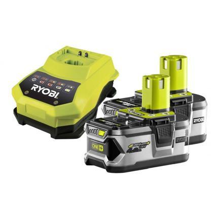 chargeur + batterie lithium ryobi one+ 4ah - 18v