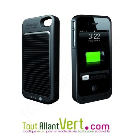 chargeur solaire iphone 4