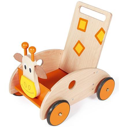 chariot de marche avec frein
