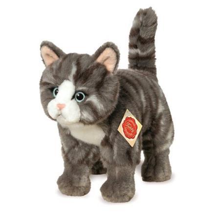chat en peluche