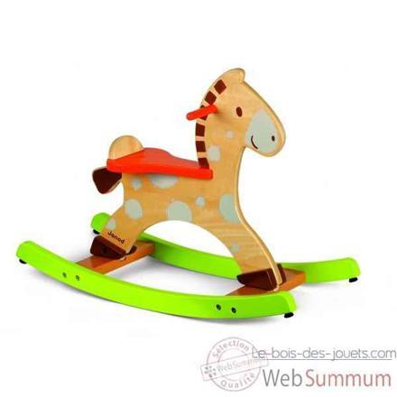 cheval en bois janod