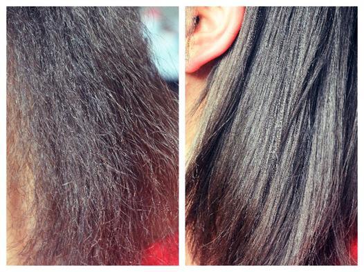 cheveux abimés lisseur