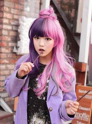 cheveux kawaii