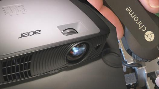 chromecast videoprojecteur