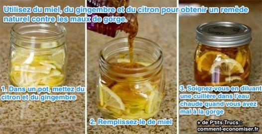 citron pour la gorge