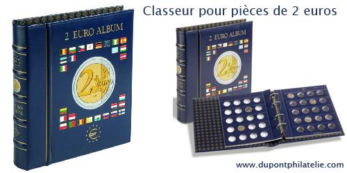classeur pieces 2 euros