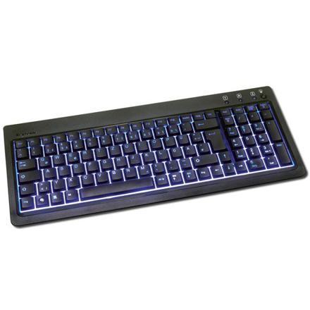 clavier azerty rétro éclairé sans fil