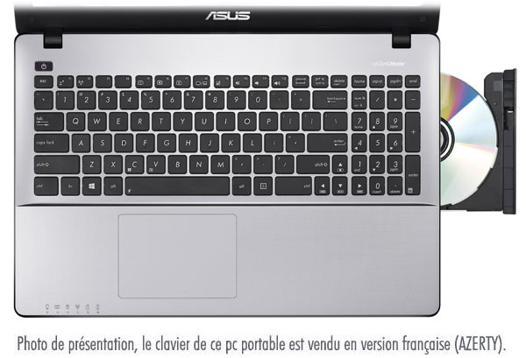 clavier portable asus ne fonctionne plus