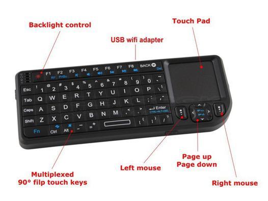 clavier pour tv samsung led