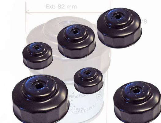 clé cloche filtre à huile
