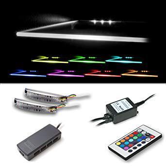 clip led pour tablette verre